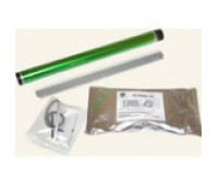 Комплект восстановления пурпурного фотобарабана Konica Minolta bizhub C203 / C253 (фотовал,  чистящее лезвие,  девелопер 250гр., чип драм-картриджа)