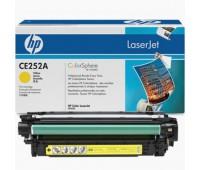 Картридж желтый HP Color LaserJet CP3520, CP3525, CP3525n, CP3525dn, CP3525x, CM3530, CM3530fs ,оригинальный