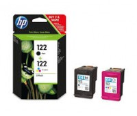 Комплект картриджей HP 122 (черный и цветной картриджи) ,оригинальный