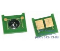 Чип желтого картриджа HP Color LaserJet CP3525x