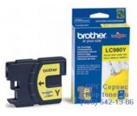 Картридж желтый Brother LC-980Y ,оригинальный