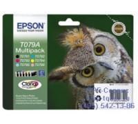 Набор картриджей Epson С13T079A4A10  (6 цветов),оригинальный
