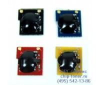 Чип голубого картриджа HP CP2025 / CM2320