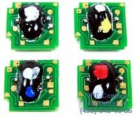 Чип желтого картриджа HP CP1215 / 1515N / 1518NI / CM1312