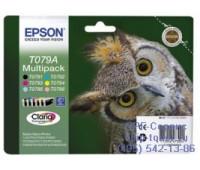 Набор картриджей Epson T079A оригинальный